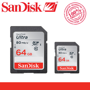 Image 5 - SanDisk Ultra карта памяти, класс 10, 32 ГБ, 16 ГБ, 64 ГБ, 128 ГБ, SDHC, SDXC, C10, 80 МБ/с./с