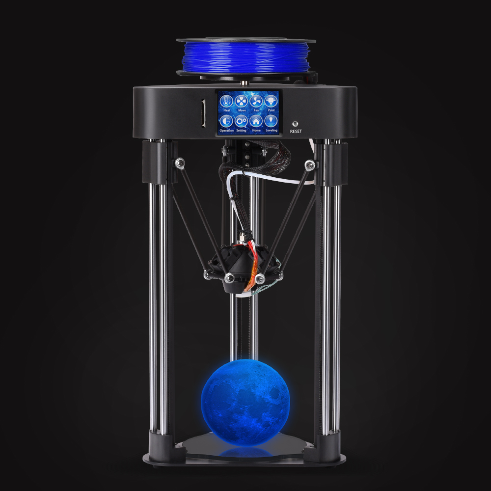 BIQU MAGO assemblea completa MINI 3D Stampante impressora 3d Auto livellamento destop di alta qualità a prezzi accessibili kossel macchina