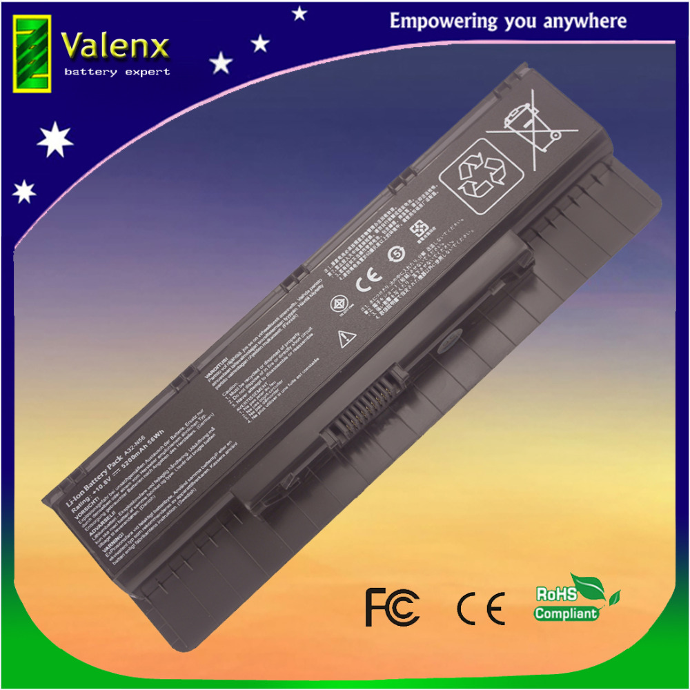 Batterie d'ordinateur portable Pour Asus N56 N56D N56J N56JK N56JN N56V N76 N76V R401 R401J R401V R501 R501D R501J R501V R701 R701V