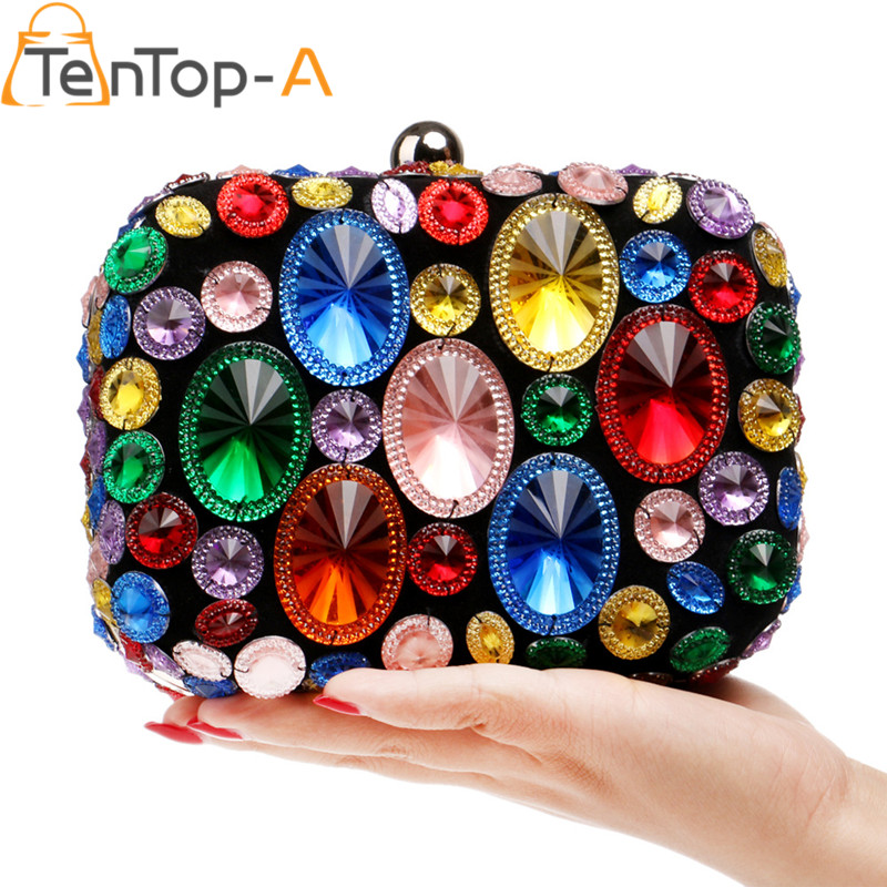 TenTop-Una Pesada Hecha A Mano de Resina de Colores de Diamantes de la Gema de L