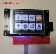 Impresora 3D pantalla de bienvenida MKS TFT32 pantalla del controlador inteligente de pantalla táctil 3.2 inch soporte APP/BT/personalización/idioma local