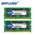 BINFUL marca nuevo sellado DDR3 2 GB 4 GB 1066 MHz 1333 1600 PC3-12800/8500/10600/portátil de memoria RAM/vida DE GARANTÍA envío gratuito