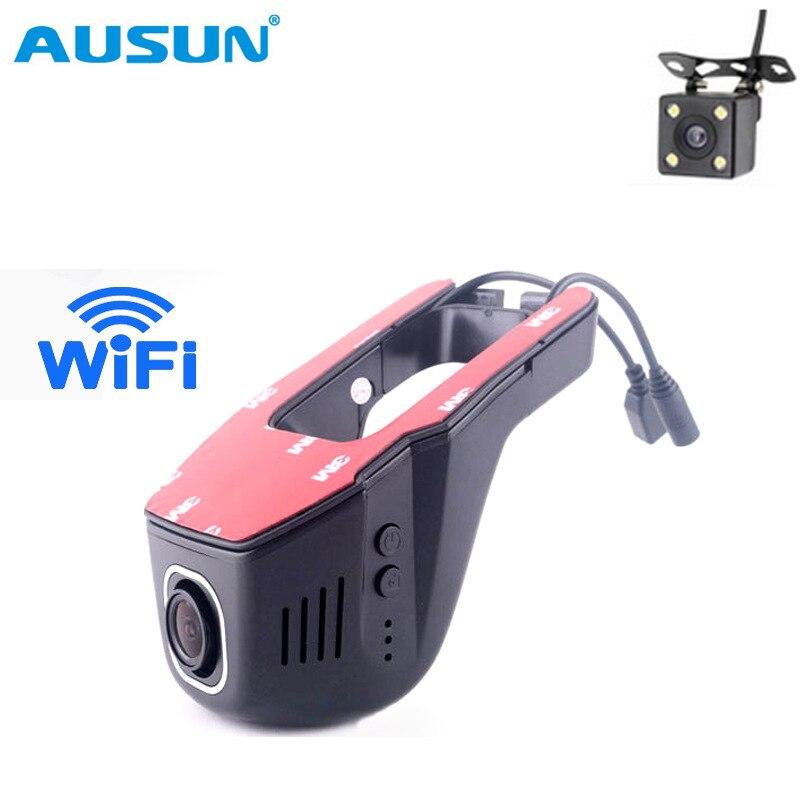 Wifi Car DVR Digital Video Recorder Hidden Camcorder Dash Mini Camera Dual Lens Rear view dvrs Dash cam