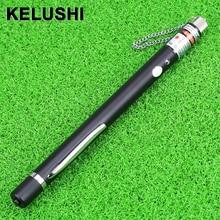 KELUSHI 10mw 10km caneta de teste de fibra de Laser De Fibra Óptica da Falha do Cabo Localizador, fibra óptica fibra Tester Ferramenta de teste e medição