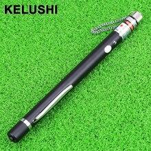 KELUSHI 10mw 10km pen fibra óptica Cable láser localizador de fallos prueba de fibra, prueba de fibra óptica y medición herramienta de probador de fibra