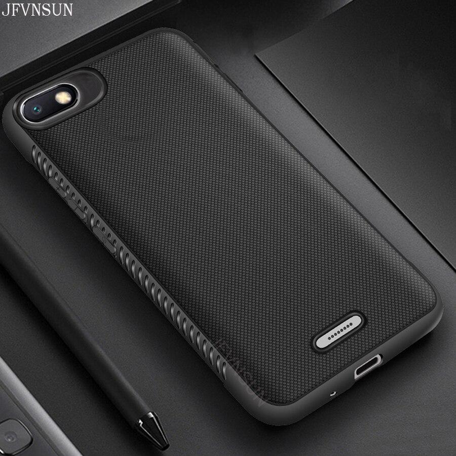 """Для Xiaomi Redmi 6A чехол 2 ГБ + 16 Гб 5,45 """"тонкий Противоскользящий матовый мягкий термополиуретан силиконовый армированный защитный чехол для Xiaomi ..."""