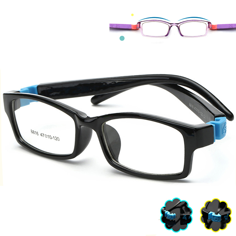 3135aba00d TR90 Kids Eyeglasses Frames Baby Eyewear Optical Glasses Frame Children  Myopia Eye Glasses Frames For Girls