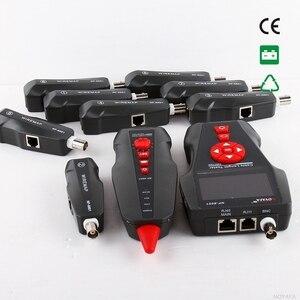 Image 2 - Oryginalny Noyafa NF 8601W Tester kabla sieciowego LAN LCD telefon wykrywacz kabli telefonicznych do testowania linii PING / POE BNC RJ45 RJ11