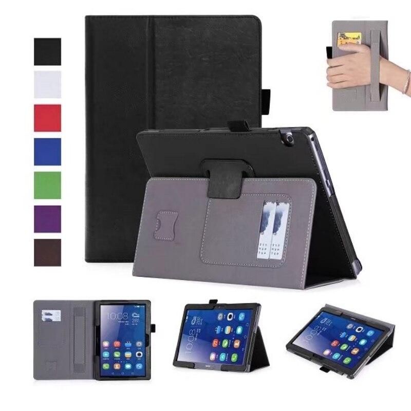 Tablet Case de luxe pour Huawei MediaPad T3 10.0 Pleine Protection En Cuir cas Flip Smart Cover pour Huawei MediaPad T3 10 9.6 Pouce