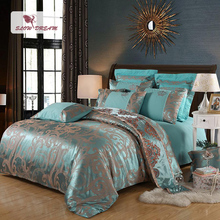SlowDream Bed Linen Euro Cotton Decor Bedspread Double Queen King Bedding Set Duvet Cover Bed Sheet Pillowcases Home Bedding Set все цены
