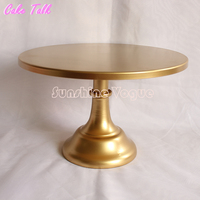 Metal Cake Stand 10 12 Inch Gold Colorcolor Grand Design Party Event Supplier