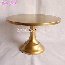 Metal soporte de la torta de 10/12 pulgadas de oro colorcolor grand diseño fiesta evento proveedor