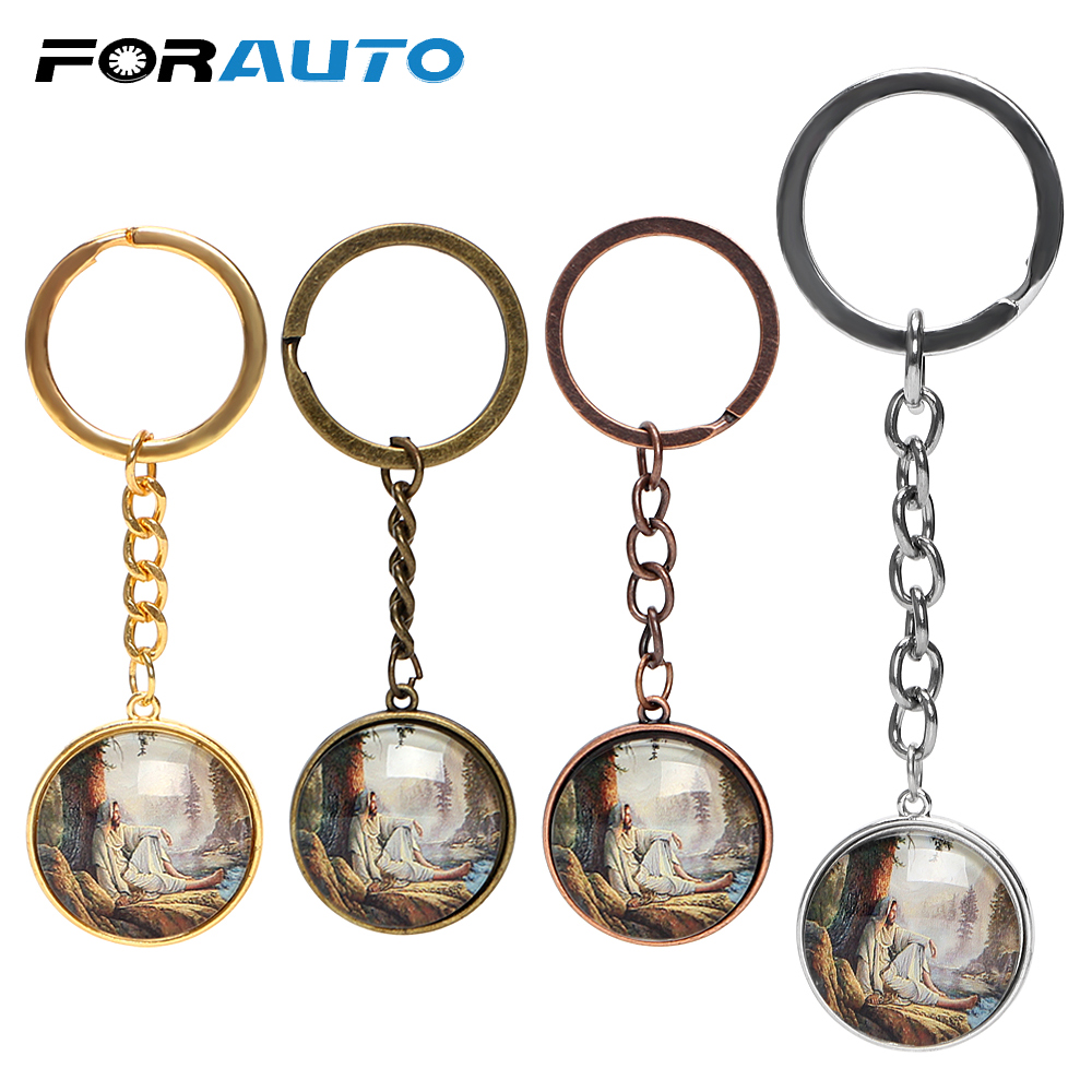 Cool Car Metal Keychain  Key Chain Wheel Pendant Gift Key Ring For Man Women SV