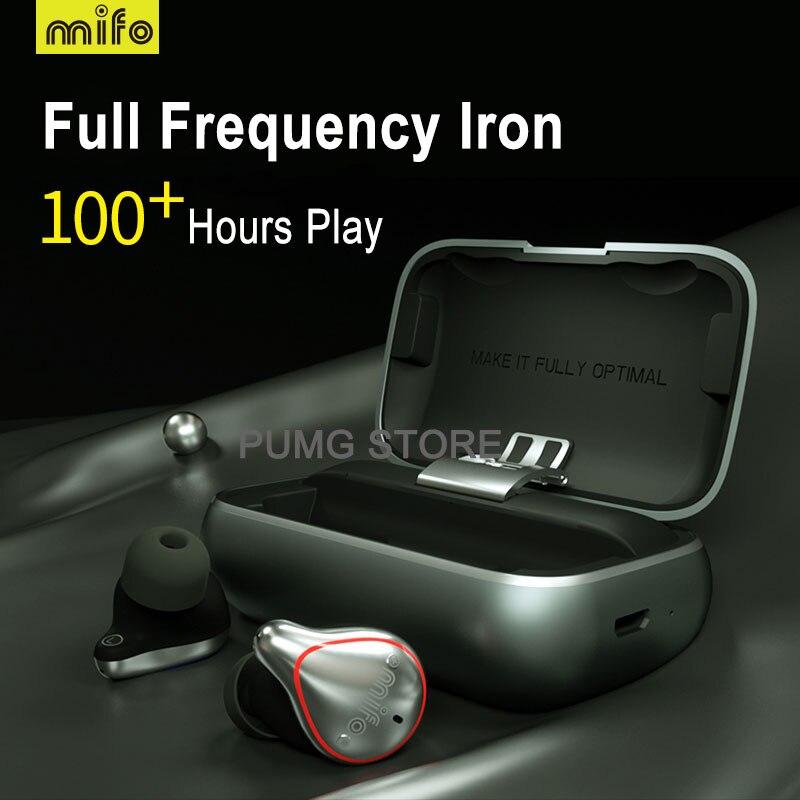 Mifo Bluetooth 5.0 véritable sans fil écouteurs étanche Bluetooth écouteurs sport stéréo son écouteurs avec boîte de charge pour téléphone - 6