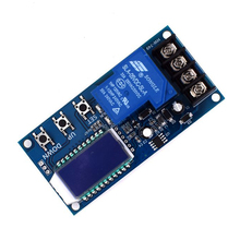 Dc 6 60V 30A Storage Battery Charging Control Module Protection Board Charger Time Switch Lcd Display