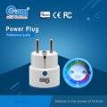 Z-wave Беспроводной Смарт ЕС Power Plug Разъем Совместим с Z-wave 300 и 500 серии z-wave Домашней Автоматизации, Сигнализации дома