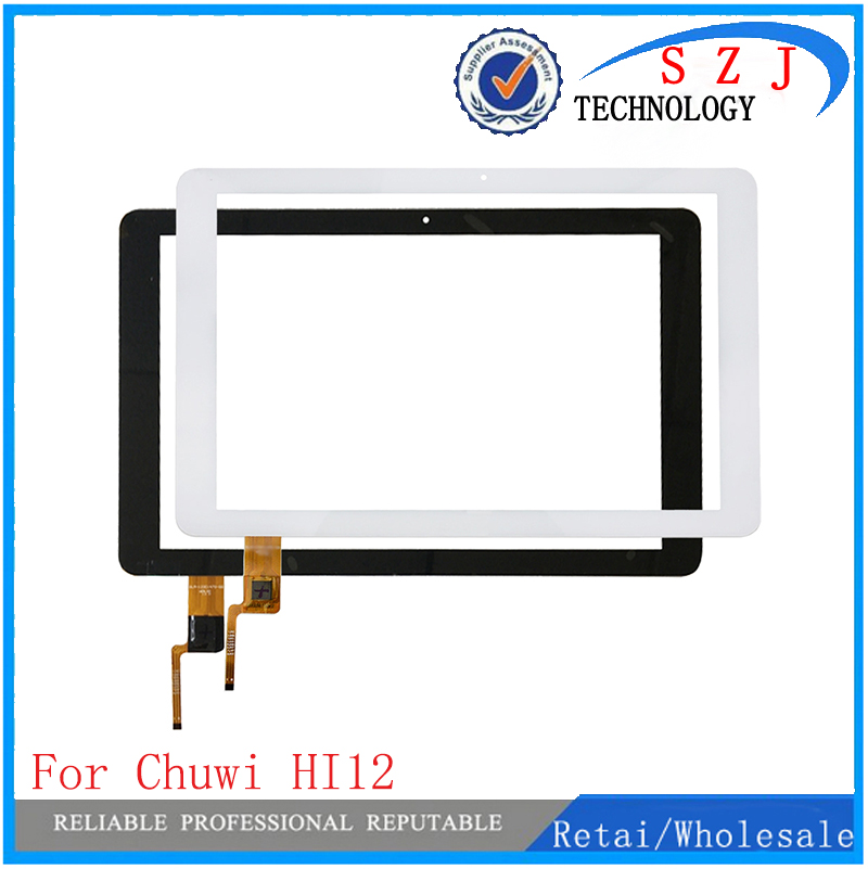 New 12'' inch For Chuwi HI12 Dual os Tablet PC Capacitive Touch Screen Panel Digitizer Glass MID Sensor Free Shipping 42mm parnis black dial multifunction sapphire glass black leather strap 26 jewels miyota 9100 automatic mens watch