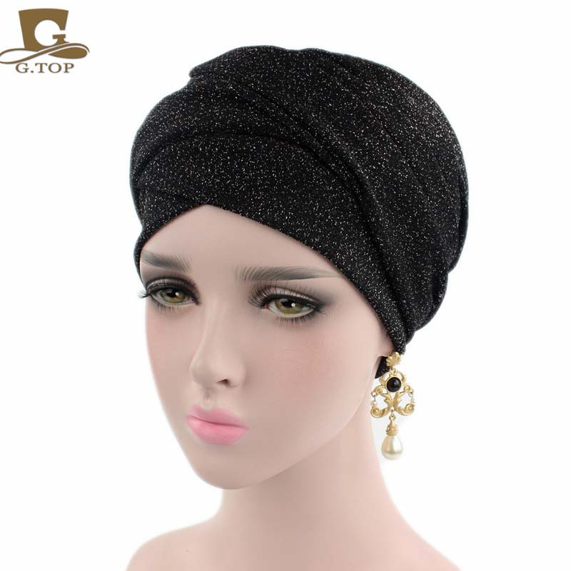 2017 new turban breathable mesh shimmer long scarf head wrap women hijab tube head scarf tie maison jules new red women s size xs striped shimmer tie back blouse $49 091