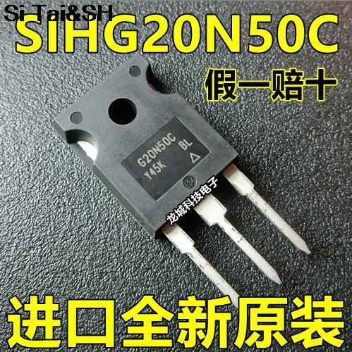 10pcs/lot G20N50 G20N50C SIHG20N50C-E3 TO-247