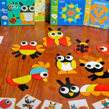 Free shipping children educational toys Montessori creative Cartoon animal puzzle, Baby wood/wooden puzzle toy, Montessori toy цена в Москве и Питере