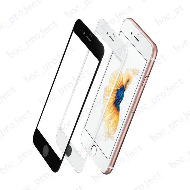 3D Buruq Edge Tam Örtüklü Cib telefonu Temperli Şüşə Ön - Cib telefonu aksesuarları və hissələri - Fotoqrafiya 5