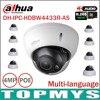 Dahua 4MP IP CCTV Camera IPC HDBW4431R AS Support IK10 IP67 Audio And Alarm PoE IP