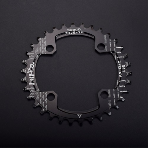 FMF Aluminum Alloy BCD 104mm Chainwheel 32 34 36 38T Red Round Bike Chain Ring Bicycle Crankset Ring Chainwheel Replacement in Bicycle Crank Chainwheel from Sports Entertainment