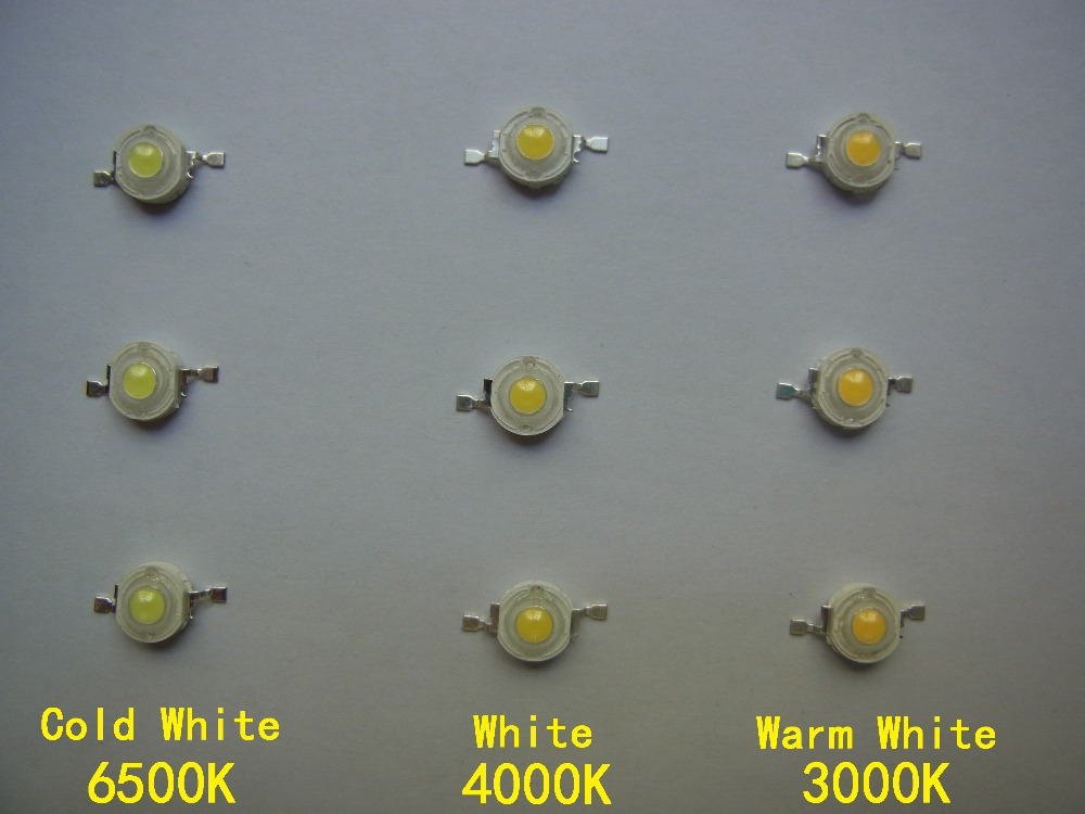 Freeshipping Genesis Photonics 45MIL 3W High Power LED Light Beads 1LA5 600mA Light Source CE RoHS Ultra Bright LED Diode 10Pcs