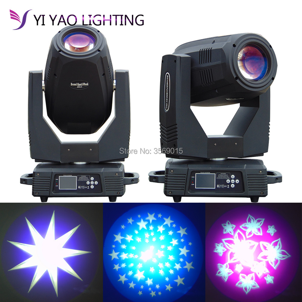 2pcs/lot New Arrival Beam 17R 350W Moving Head Beam Stage Light Beam Spot Wash 3in1 Moving Head Light For Stage Party Concert