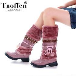 Женские полуботинки на плоской подошве зимние сапоги качественная модная обувь теплая обувь Botas Feminina размер 35–40 AH053