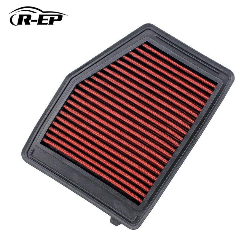 Reemplazo de Panel filtro de aire apto para Honda Civic 1.8L 2.0L 2012-2016 OEM 17220-RIA-A01