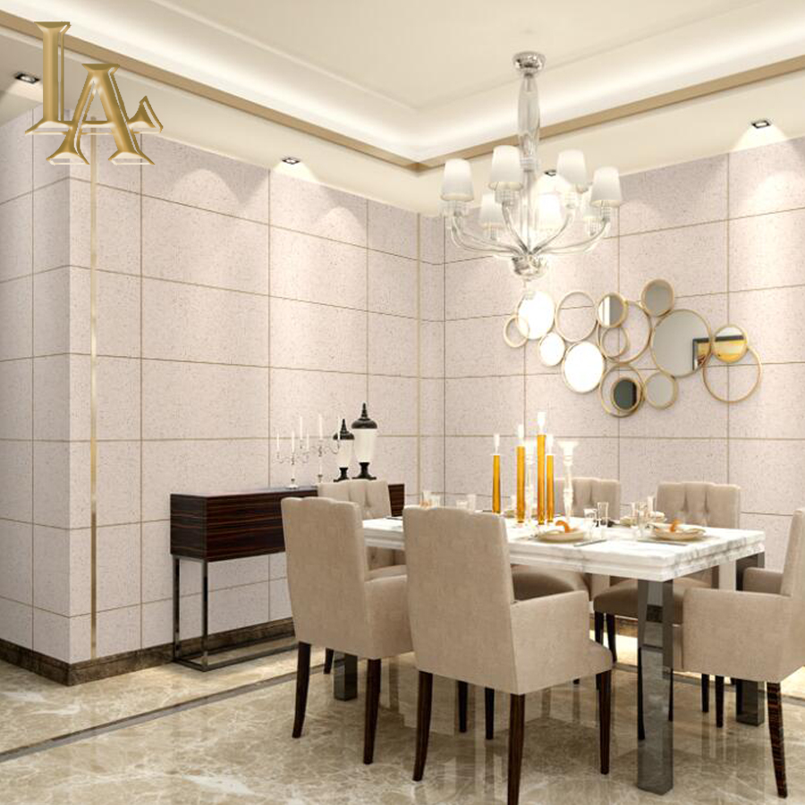 High Quality Modern 3d Marble Brick Wallpaper For Walls