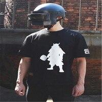 Jedi Survival Battle Royale Same Short Sleeved T Shirt Men Tide Dmm Samurai Suit Pan Chicken COS Surrounding Victory