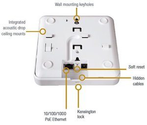 Image 3 - Ruckus Wireless ZoneFlex R300 901 R300 WW02 (alike 901 R300 US00) With PoE Injector (902 0162 CH00) Indoor Access Point