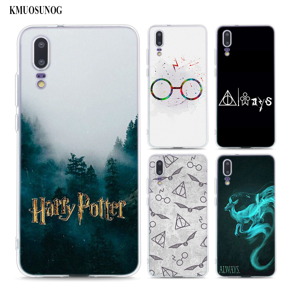 Transparent Soft Silicone Phone Case always Harry potter for ...