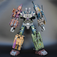 [In Stock] Jinbao Oversized Bruticus - Nobox Transformation WB Warbotron Onslaught Brawl Swindle Blast Off 5 in 1