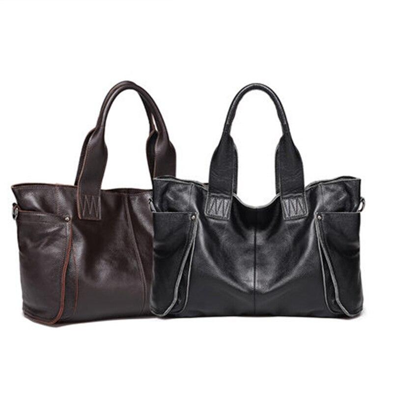 2018 Ladies Large Capacity HandBags Popular Big Tote Bags Women Top - Beg tangan - Foto 3