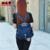 Novo E Elegante Mulheres Multifuncionais Bolsas de Ombro Moda Verão Das Mulheres de Nylon À Prova D' Água Saco Do Mensageiro Estilo Preppy Bolsas Femininas