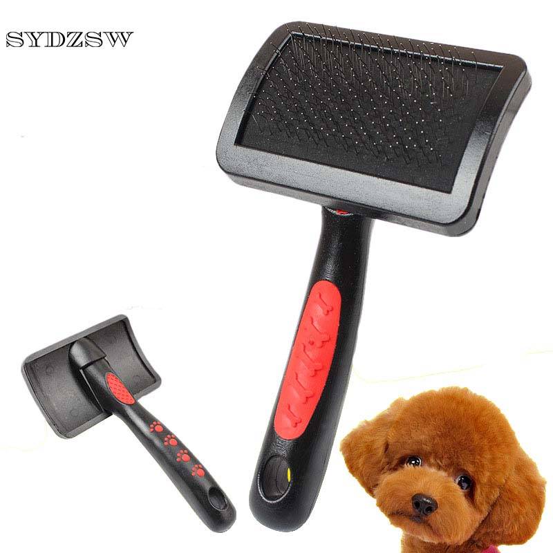 SYDZSW Plastic Pet Comb Dog Brush Large Surface Pet Hair Removal Comb for Small and Large Dogs Pet Store Hot Sale Dog Products