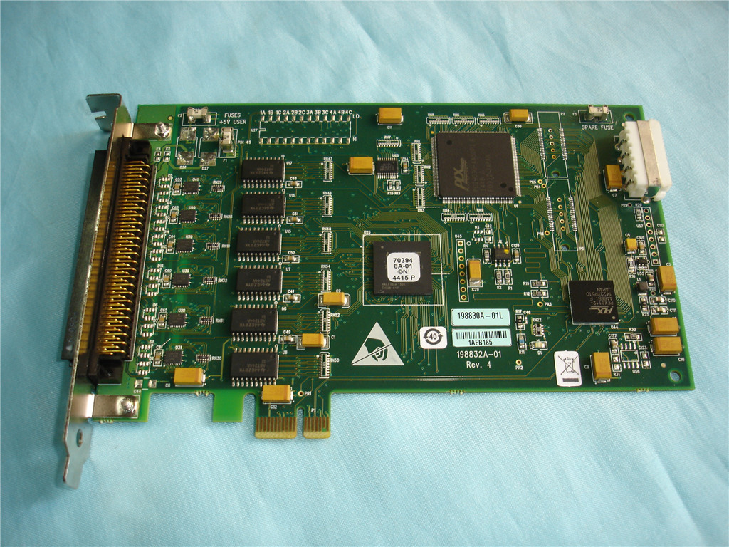 For American Genuine NI PCIe-DIO96H Data Acquisition DAQ Card NEW