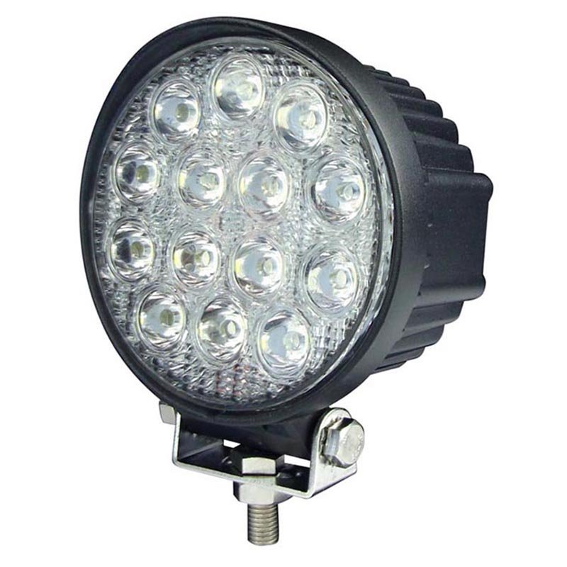 2PCS HOT SALE LED WORK LIGHT 42W 3150LM WITH 30000 HOURS WORKING LIFE!!!!!