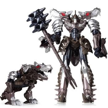 19cm Transformation Car Robot Toys Bumblebee Optimus Prime Megatron Decepticons Jazz Collection Action Figure Gift For Kids - G