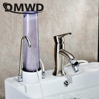 DMWD Household Water Front Clean Purifier Faucet Tap Ceramic Table Type Active Carbon Pre filter Filtration Cartridge
