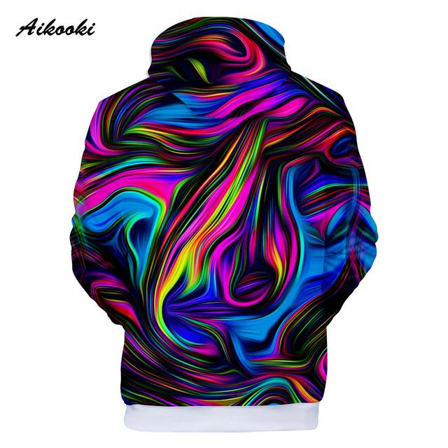 Colorful Tie Dye Hoodies Sweatshirt Men/Women