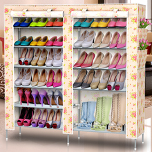 Multilayer dust simple shoe rack stainless steel Multifunctional Storage minimalist Specials