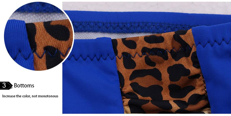 Andzhelika Bikinis Women Swimsuit Newest Sexy Leopard Patchwork Bikinis Set Plus Size Swimwear Maillot de bain Femme Biquini 8