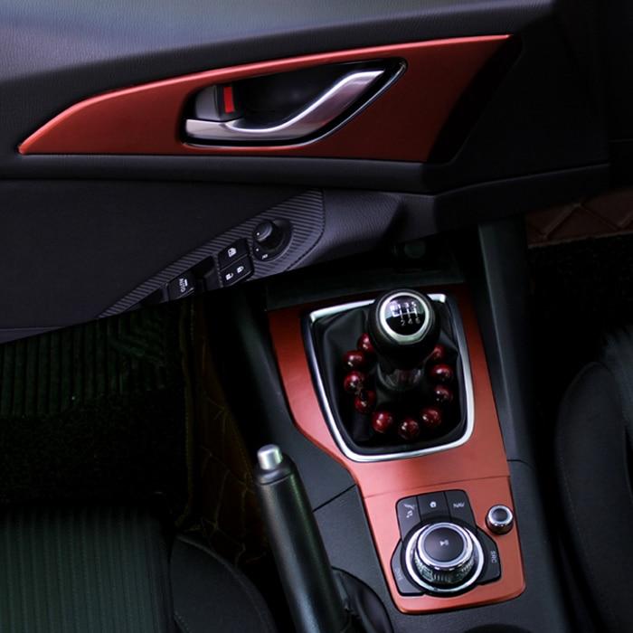 Mazda Axela Üçün Yeni Avtomobil Daxili Mərkəzi Konsol Rəng - Avtomobil daxili aksesuarları - Fotoqrafiya 2