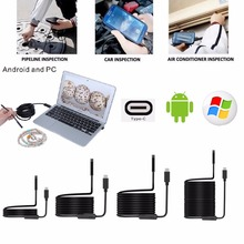 1M/3M/5M/7M/10M 8LED 5.5mm Waterproof USB TYPE-C Android Endoscope Inspection Camera