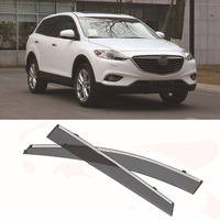 Jinke 4pcs Blade Side Windows Deflectors Door Sun Visor Shield For Mazda CX 9 2013
