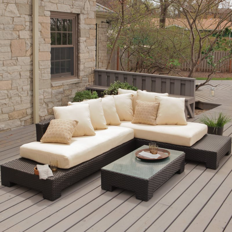 2017 new design relax fisher patio furniture sofa set - Designer Patio Furniture